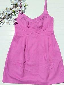 Nanette Lepore Mauve A-line sleevess dress sz 10